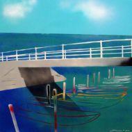 """Heinz Morstadt zeigt sein Werk """"Brücke von Torricella"""""""