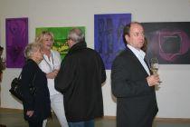 Ausstellungseröffnung 4-Quadri mit Laudator Gerd Kohlschein, den Künstlern und den illustren Besuchern