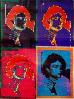 """Heinz Morstadt zeigt sein Werk """"Ralf Collage"""""""