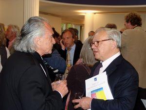 Im Gespräch: Hubert Burda und Heinz Morstadt